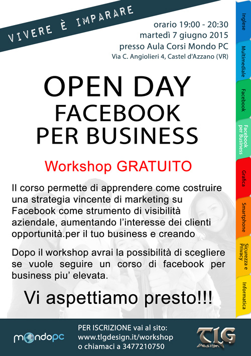 Facebook per business workshop